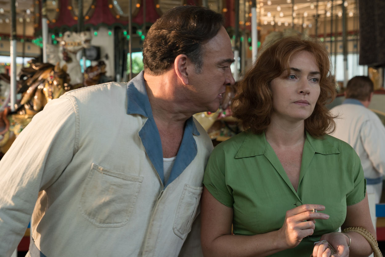 WONDER WHEEL - pelcula - Kate Winslet y Jim Belushi