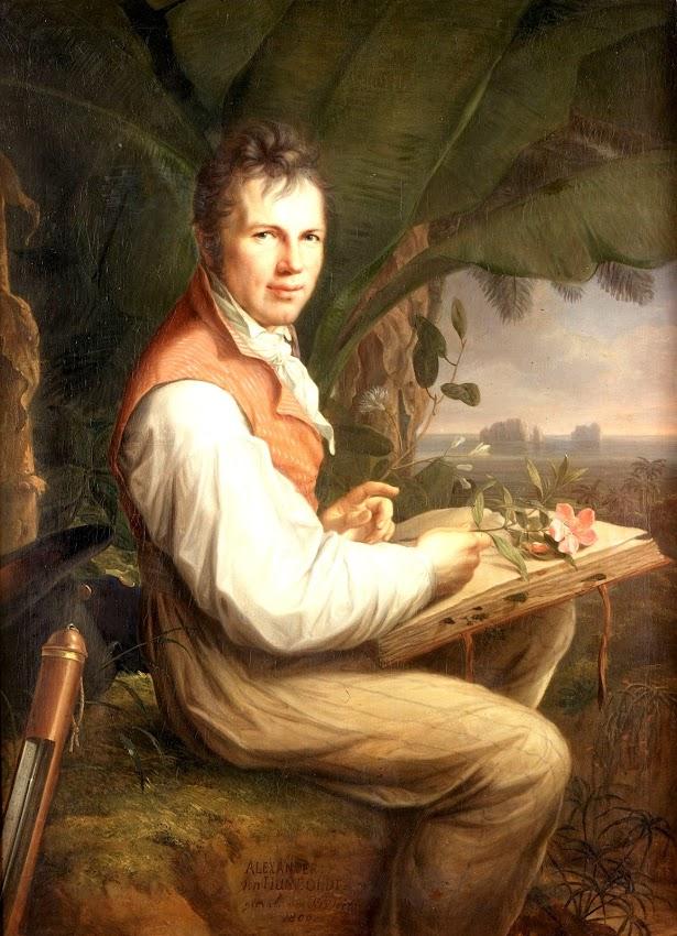 Friedrich Georg Weitsch - Alexandre von Humboldt
