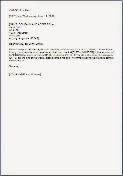 Payment Made Confirmation Letter