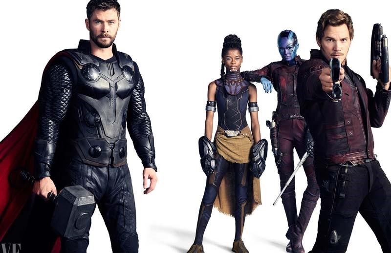 Guerra Infinita | Primeiras fotos oficiais do filme são reveladas — Vingadores