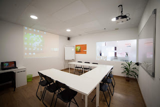 Sala formación Másquemente Madrid