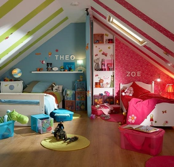 Boy Girl Bedroom Ideas: Pepper And Buttons: Best Boy + Girl Shared Room Ideas