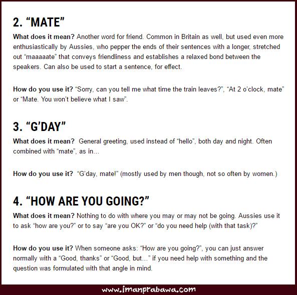 Arti How Are You Going Dalam Bahasa Inggris