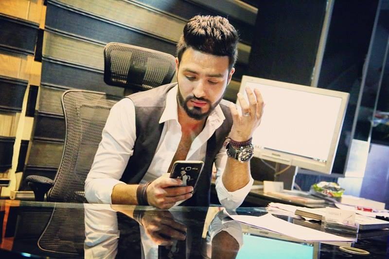 محمد حسام يستعد لاحياء حفلات في الامارات والبحرين