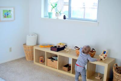 Organización de los materiales Montessori