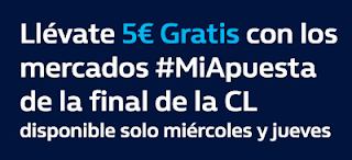 william hill promocion final champions Real Madrid vs Liverpool 23-24 mayo