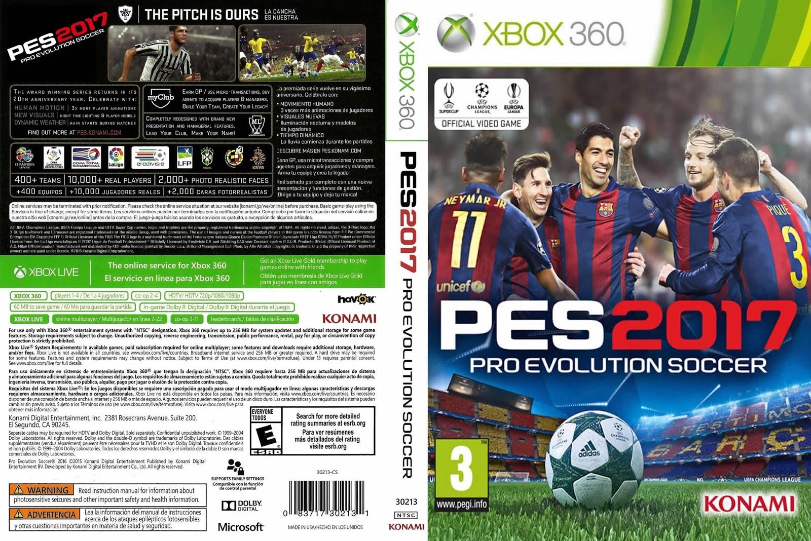 7b72a5acf5 (PES 2017) Pro Evolution Soccer 2017 – A série premiada leva a experiência  de jogo a um novo nível com realidade interactiva no controlo e gráficos ...