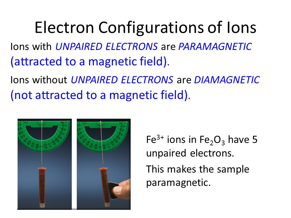What is the electron configuration of Fe 3? - Answers