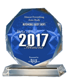 2017 Best of Fremont-Best Auto Body Shop-Almost Everything Auto Body