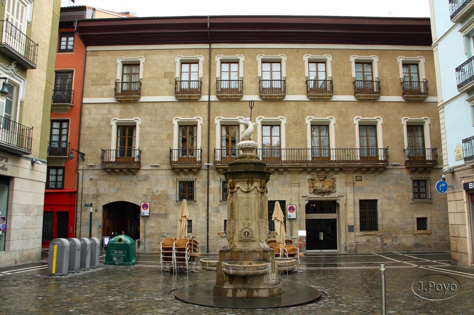 Palacio de los condes de Guenduláin Pamplona