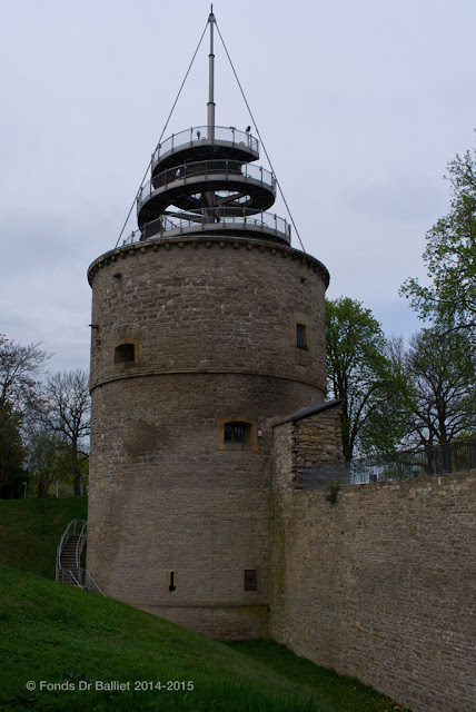 Zitadelle Cyriaksburg — Turm B - Geschützturm II