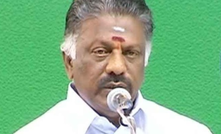 Any one can enter politics in a democratic country – O. Panneerselvam