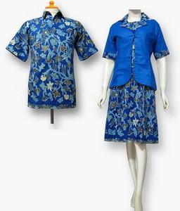 Contoh Baju Seragam Kerja Batik untuk Kantor