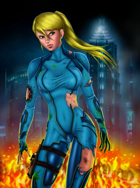 Zero Suit Samus Naked Picture Showing Boob 91