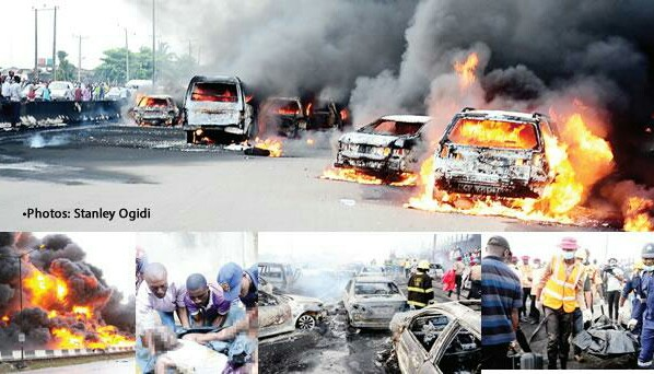 REVEALED: Causes Of Lagos Tanker Explosion... the tanker wasn't even for petrol
