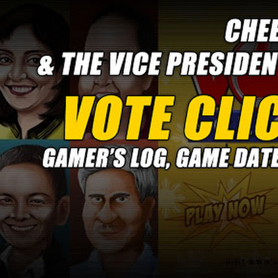 Gamer's Log, Game Date 3.2.2016 ★ Cheesy Chiz & The Vice Presidentiables ★ Vote Clicker Halalan 2016 VP
