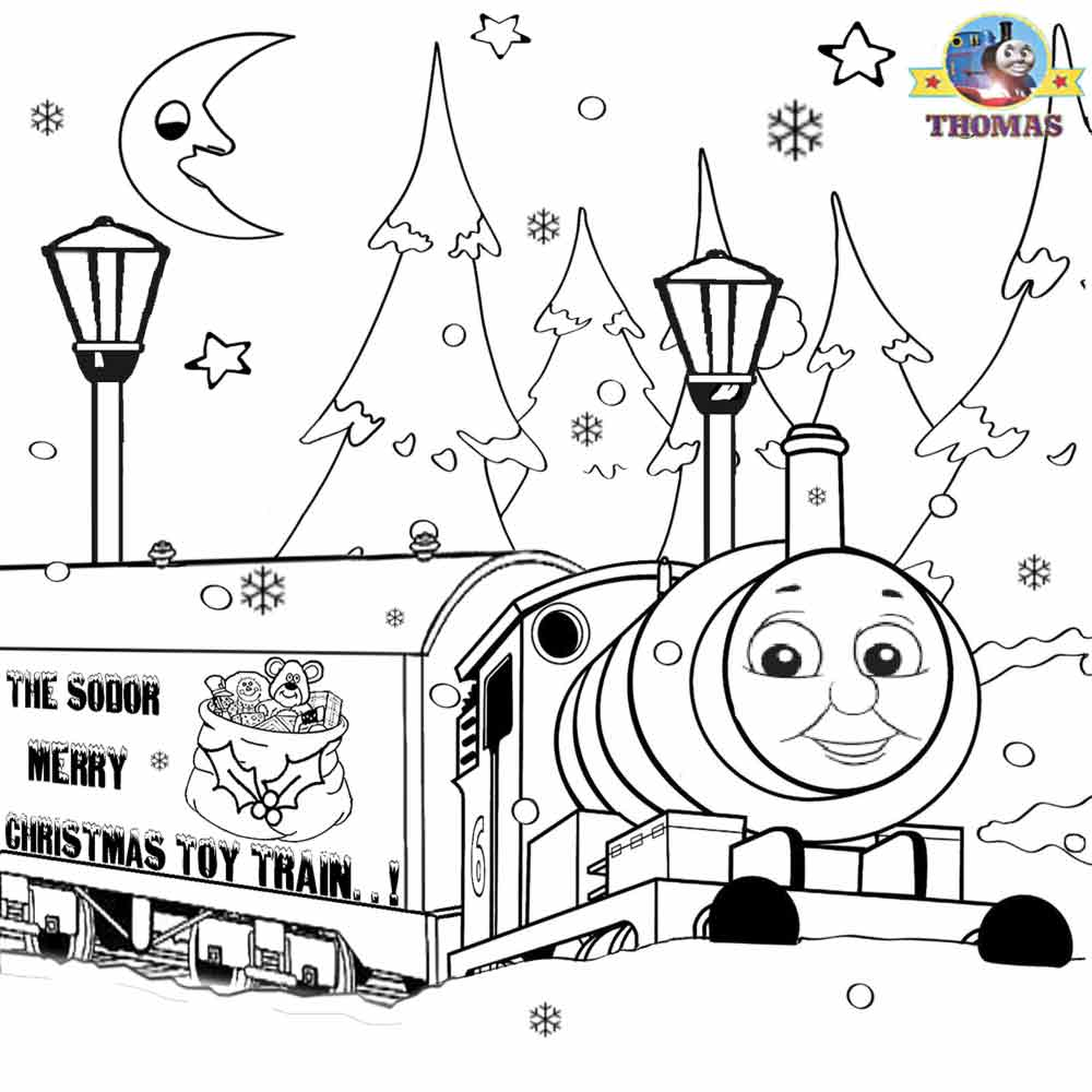 thomas the train christmas coloring pages.html