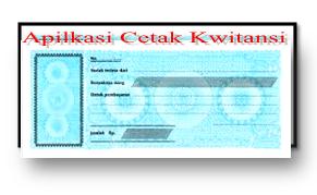 Aplikasi Cetak Kwitansi Format Xls