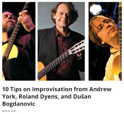 Chitarra classica e improvvisazione