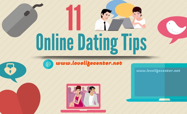 11 Online Dating Tips #infographic ~ Visualistan
