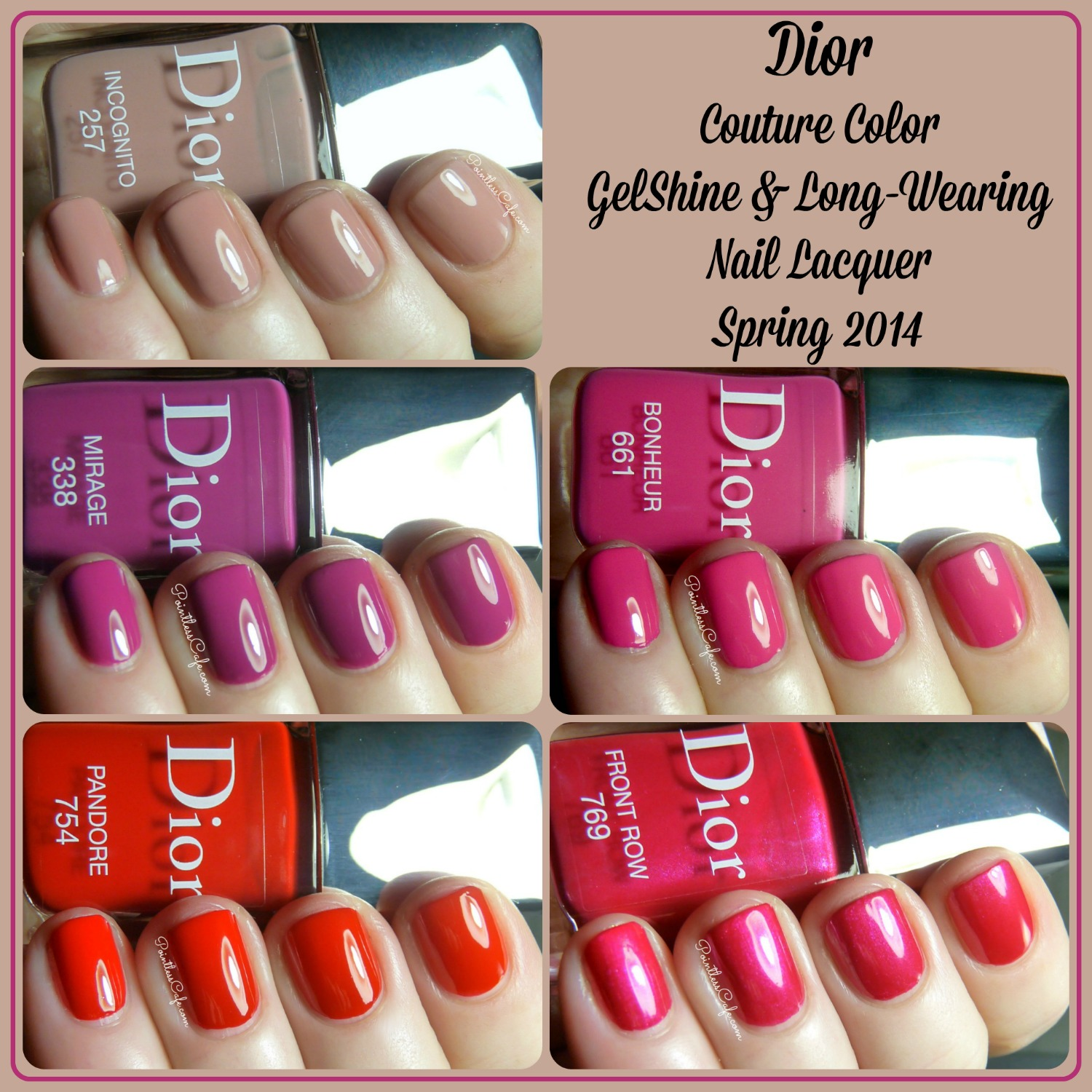 Dior Couture Color Gelshine Long Wearing Nail Lacquer