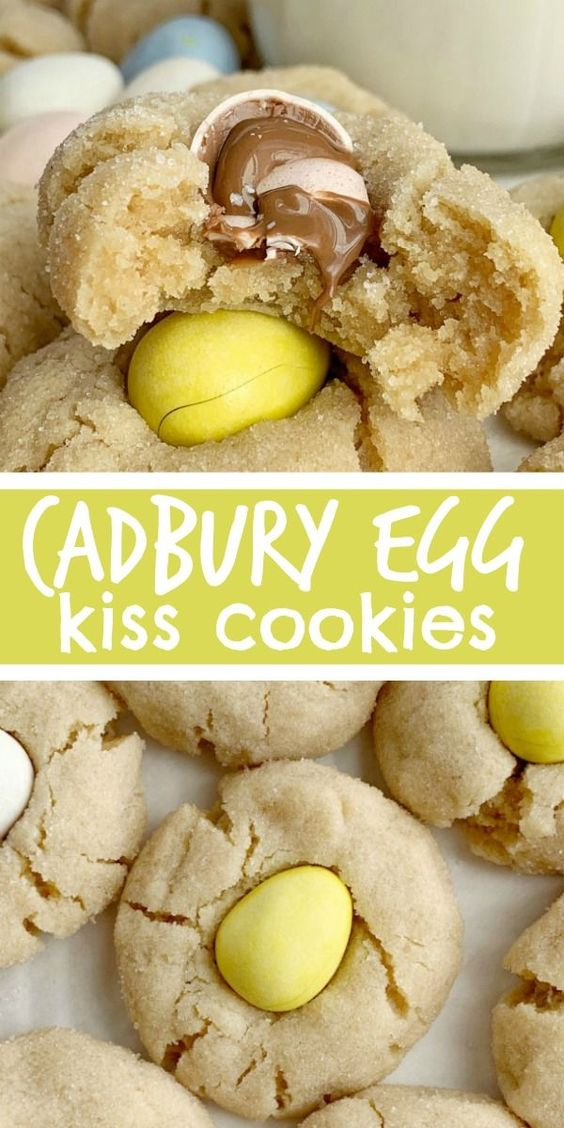 ★★★★★ 661 Ratings : Cadbury Egg Kiss Cookies #Easy #simplirecipe #Instantpot #Bangbang #Shrimp #Pasta #vegan #Vegetables #Vegetablessoup #Easydinner #Healthydinner #Dessert #Choco #Keto #Cookies #Cherry #World #foodoftheworld #pasta #pastarecipes #dinner #dinnerideas #dinnerrecipes #Healthyrecipe