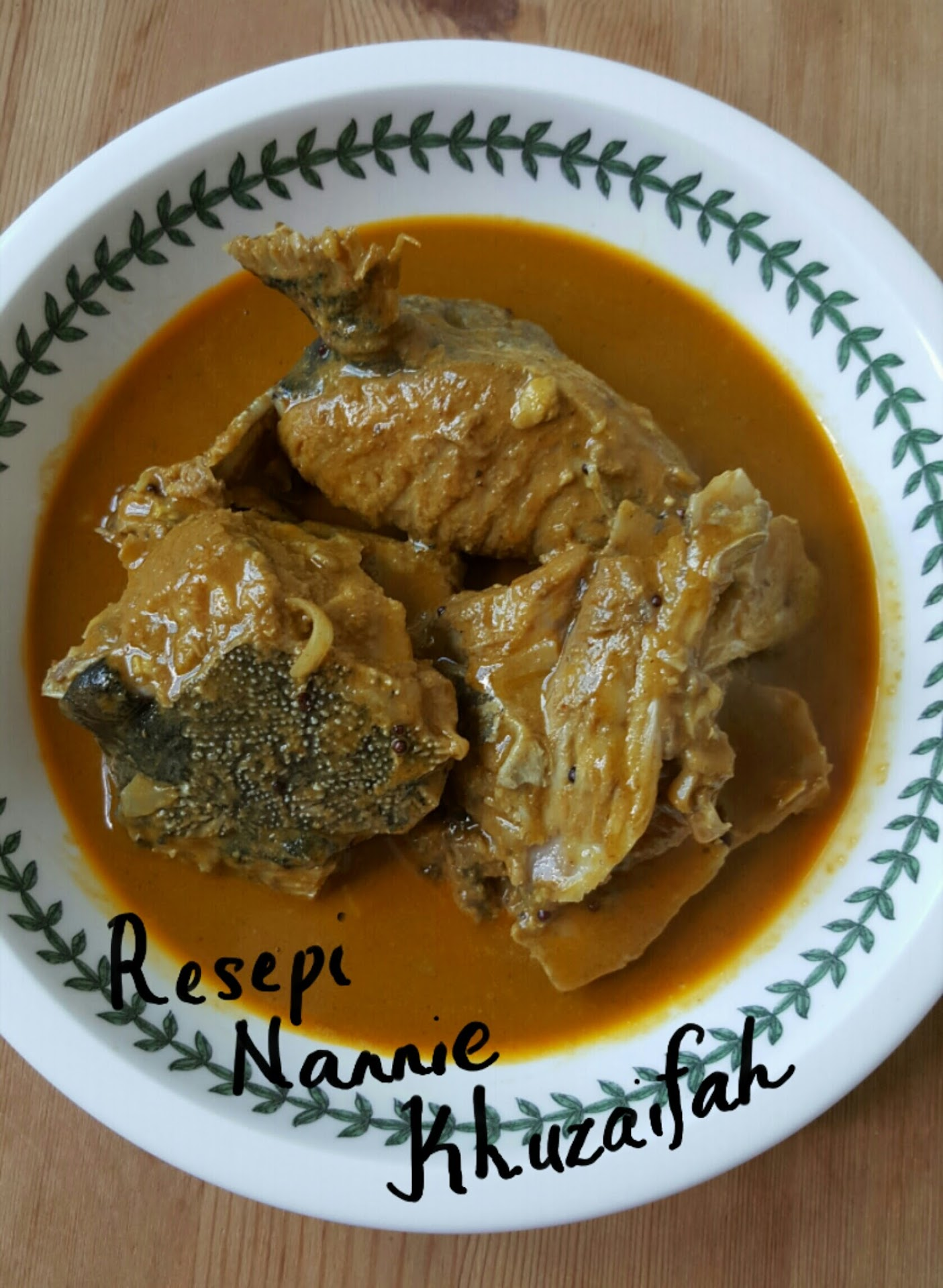Kari kepala ikan Mayong