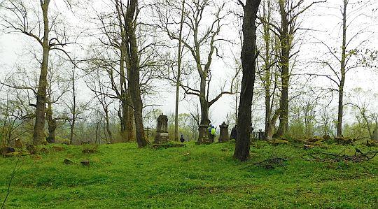Cmentarz w Łupkowie.