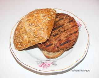 Burger vegetarian retete culinare,