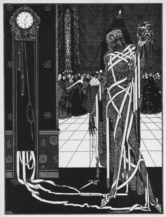 10 Ilustrações Inspiradas nos Contos de Mistério de Edgar Allan Poe