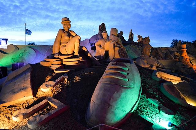Festival Internacional de Escultura em Areia em Albufeira
