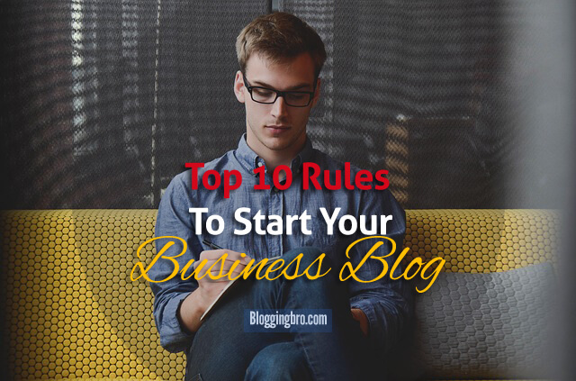 Rules-To-Start-a-Business-Blog