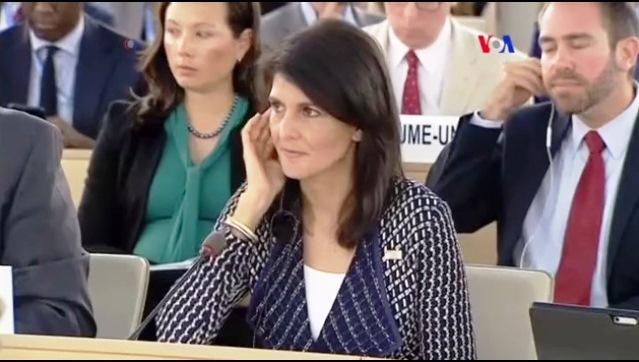 Ningún país que viole los DDHH debería tener asiento en esta mesa, dijo la funcionaria de EEUU