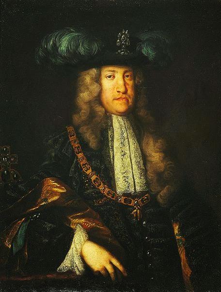 Emperor Charles VI by Martin van Meytens