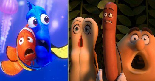 Proyectan trailer de película para adultos en Finding Dory