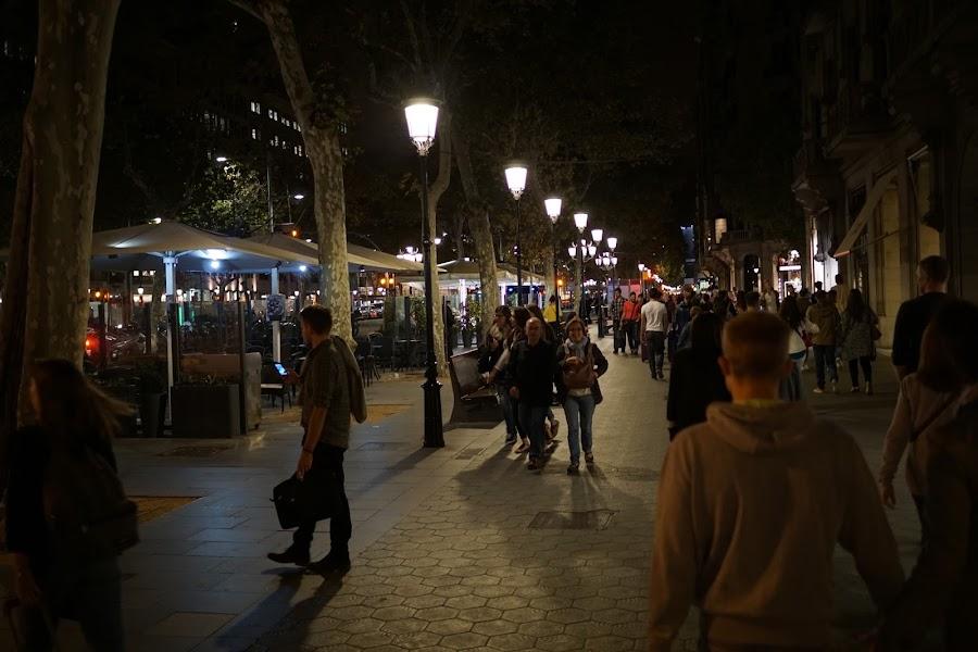グラシア通り(Passeig de Gràcia)