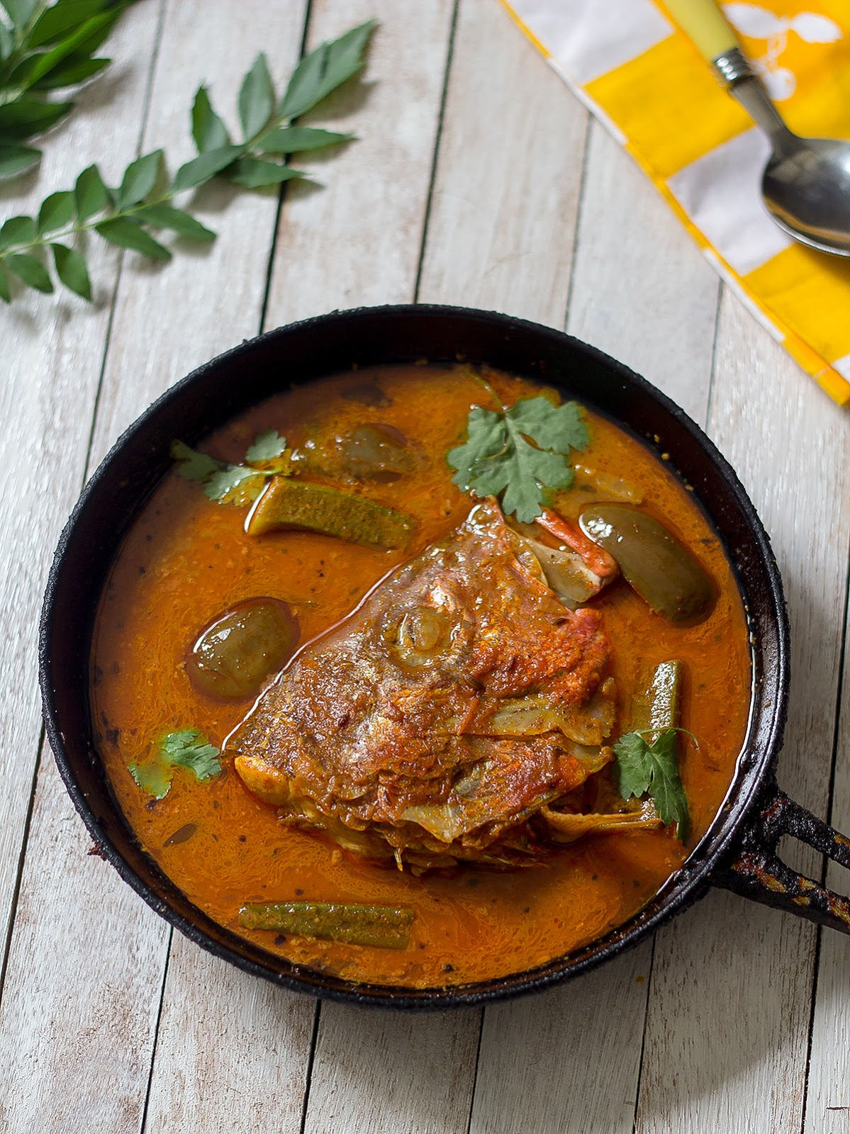 Learning-to-cook: Fish Head Curry | How to make Singapore ...