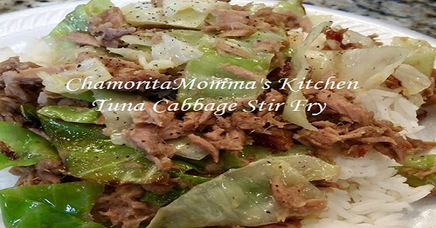 Tuna Cabbage Stir Fry Recipe
