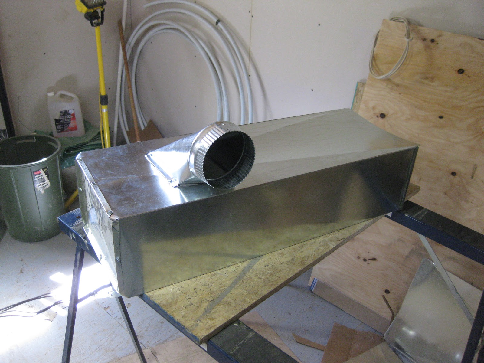 Simple man, simple plan.: Done Furnace Ducting
