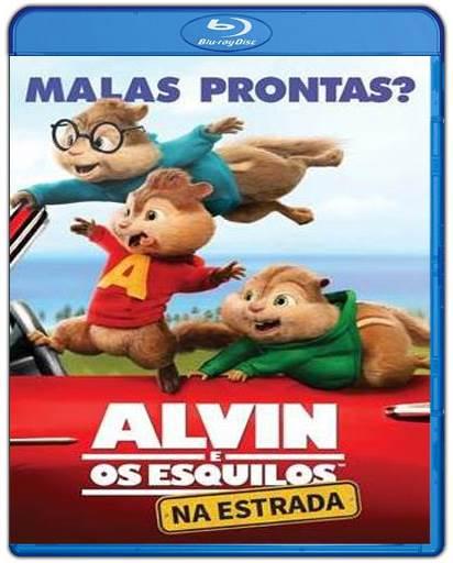 Baixar Alvin e os Esquilos Na Estrada AVI Dual Áudio BDRip Torrent