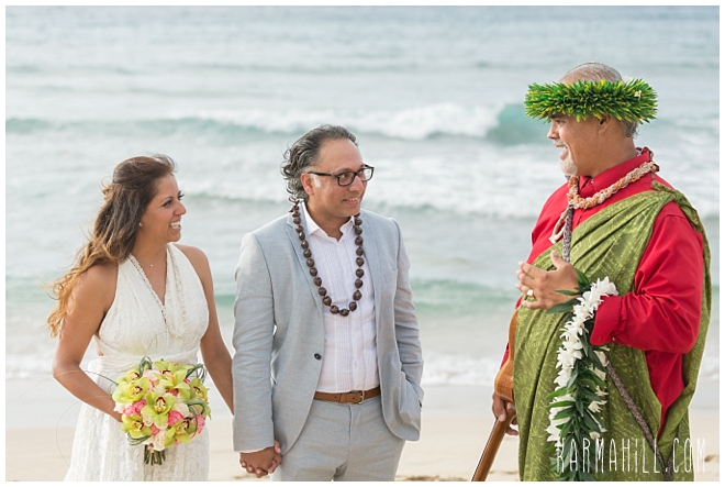 Maui Beach Wedding Ceremony Photographer