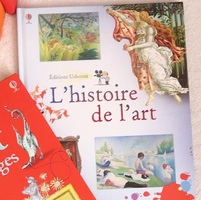 livre sur l'art pour enfants