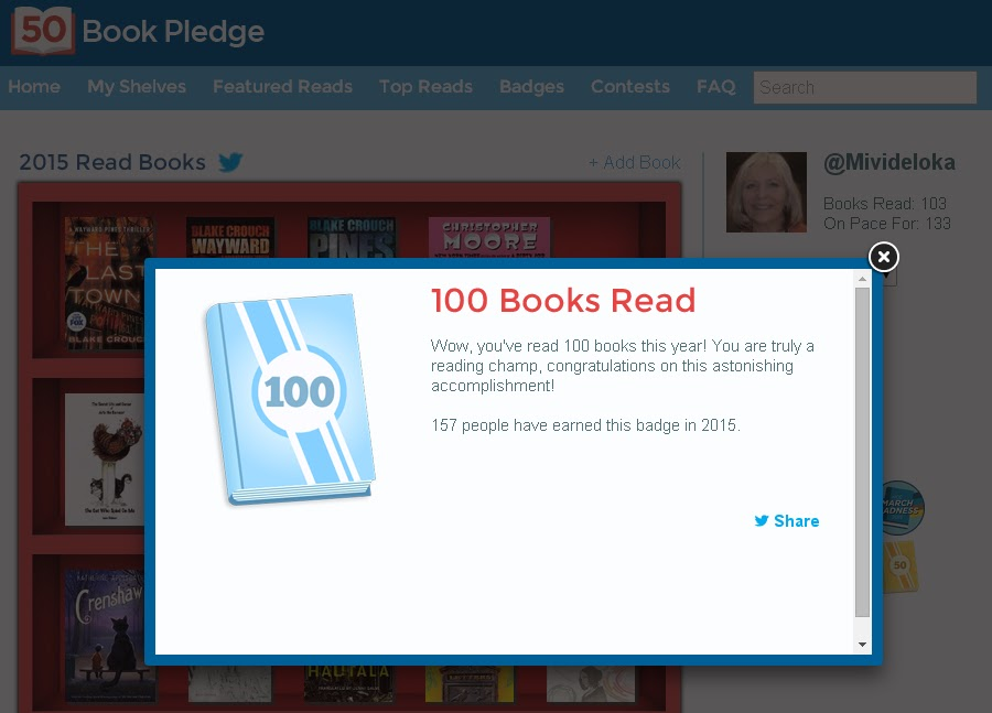 Constantly Moving the Bookmark: Woo-Hoo