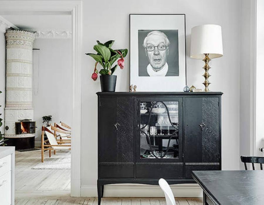 Decoraci n f cil mobiliario negro de anticuario en estilo - Estilos de mobiliario ...
