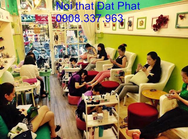 kinh nghiệm mở tiệm nail, ghế nail, ghế làm nail