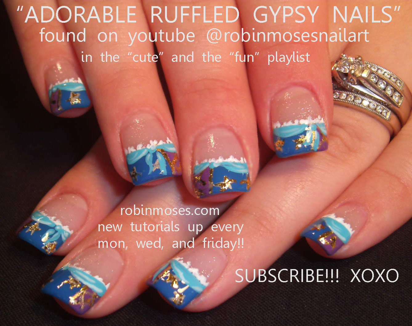 Nail Art by Robin Moses: October 2011