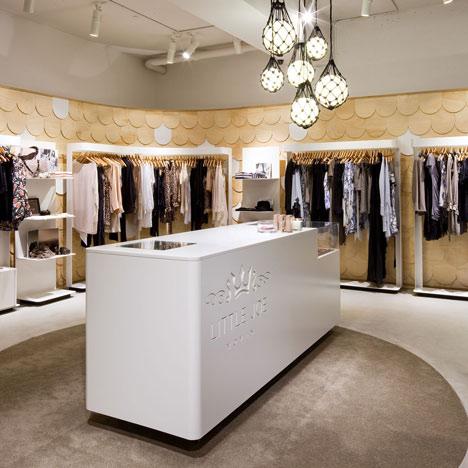 Idehadas interior design tienda de ropa en sydney for Decoracion de almacenes de ropa