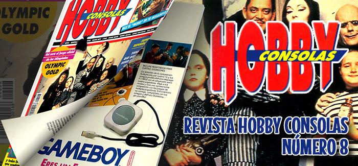 Revista Hobby Consolas Número 8 1992