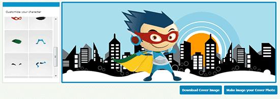 super hero timeline cover