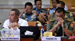 Dianggap kerap tidak sejalan, Jokowi Diminta Evaluasi Menhan & Panglima TNI